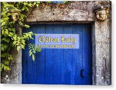 Chateau Lardy Acrylic Print