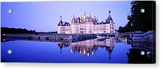 Chateau Royal De Chambord, Loire Acrylic Print by Panoramic Images