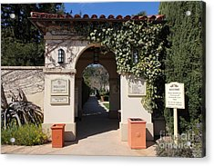 Chateau St. Jean Winery 5d22197 Acrylic Print by Wingsdomain Art and Photography