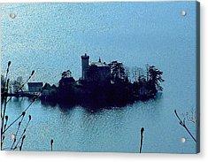 Chateau Sur Lac Acrylic Print