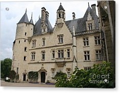 Chateau Usse Acrylic Print by Christiane Schulze Art And Photography