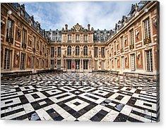 Chateau Versailles France Acrylic Print