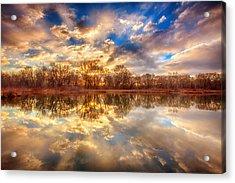 Chatfield Sunrise Acrylic Print
