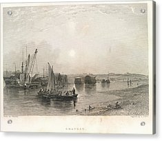 Chatham Acrylic Print by British Library