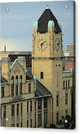 Chatham County Courthouse Savannah Acrylic Print
