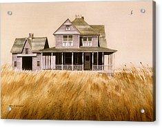 Chatham Derelict Acrylic Print by Karol Wyckoff
