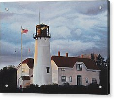 Chatham Lighthouse Acrylic Print by Sue Birkenshaw