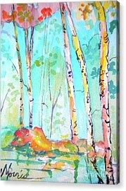 Chattahoochee River Walk Acrylic Print