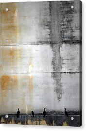 Chatter Of One  Acrylic Print by Jerry Cordeiro