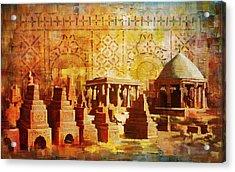 Chaukhandi Tombs Acrylic Print