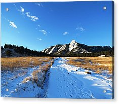 Chautauqua Powder-draped Acrylic Print