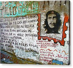Acrylic Print featuring the photograph Che Guevara by Ramona Johnston