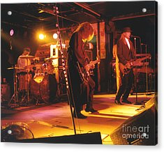 Cheap Trick-93-stage Acrylic Print by Gary Gingrich Galleries