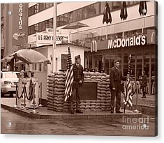 Check Point Charlie Acrylic Print