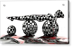 Checkered Past Acrylic Print by Tbone Oliver