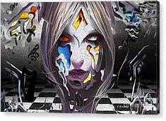 Checkmate-hd Acrylic Print by Karl Emsley