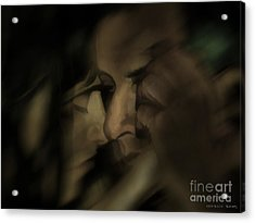 Cheek To Cheek Acrylic Print by Pedro L Gili