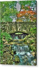 Cheekwood Bridge Acrylic Print by Zachary Cox