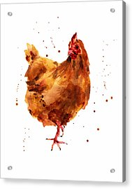 Cheeky Chicken Acrylic Print