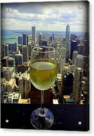 Cheers Chicago Acrylic Print