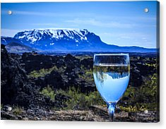 Cheers To Iceland Acrylic Print
