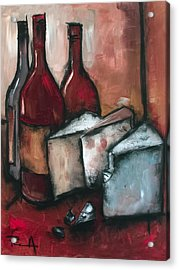 Cheese Board Acrylic Print by Sean Parnell