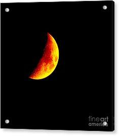 Cheese Moon Acrylic Print by Kip Krause