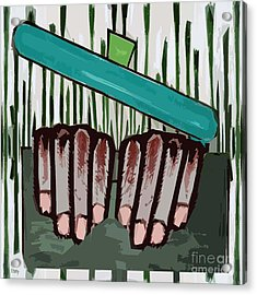 Chef Acrylic Print by Patrick J Murphy