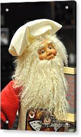 Chef Santa Acrylic Print
