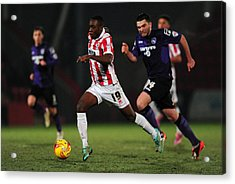 Cheltenham Town V Morecambe Fc - Sky Bet League Two Acrylic Print by Dan Mullan
