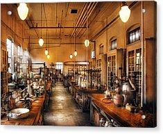 Chemist - The Chem Lab Acrylic Print by Mike Savad
