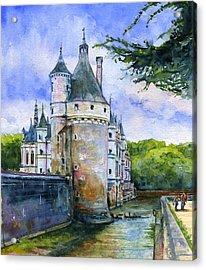 Chenonceau Castle France Acrylic Print