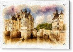 Chenonceau Acrylic Print