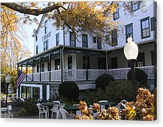 Chequit Inn Shelter Island New York Acrylic Print by Bob Savage