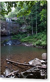 Acrylic Print featuring the photograph Cherokee Falls by Rebecca Hiatt