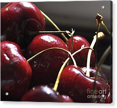 Cherries Close Up Acrylic Print