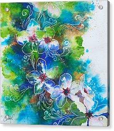 Cherry Blossom Tree Acrylic Print
