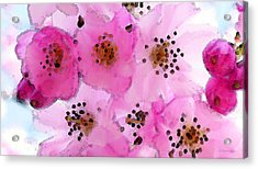 Cherry Blossoms By Sharon Cummings Acrylic Print by William Patrick