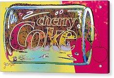 Cherry Coke 5 Acrylic Print by John Keaton
