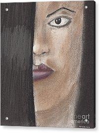Cherry Acrylic Print by David Jackson