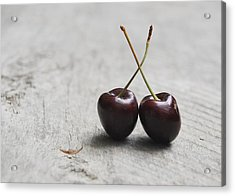 Cherry Duo Acrylic Print
