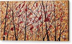 Cherry IIi Acrylic Print by Angel Ortiz