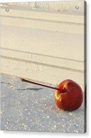 Cherry In The Spotlight Acrylic Print by Guy Ricketts