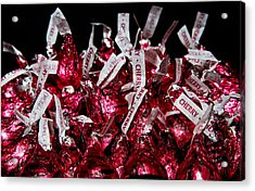 Acrylic Print featuring the photograph Cherry Kisses by John Hoey