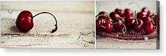 Cherry Acrylic Print by Nailia Schwarz