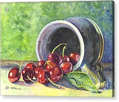 Cherry Pickins Acrylic Print