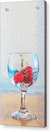 Cherry Acrylic Print by SM Shahrokni