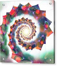 Cherry Swirl Acrylic Print by Anastasiya Malakhova