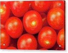 Cherry Tomatoes Acrylic Print by Andrew Dernie
