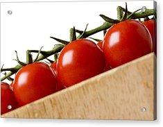 Cherry Tomatoes Acrylic Print by Nicole Neuefeind
